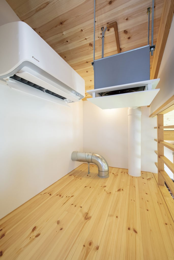 DAIWA式二重床冷暖房システム