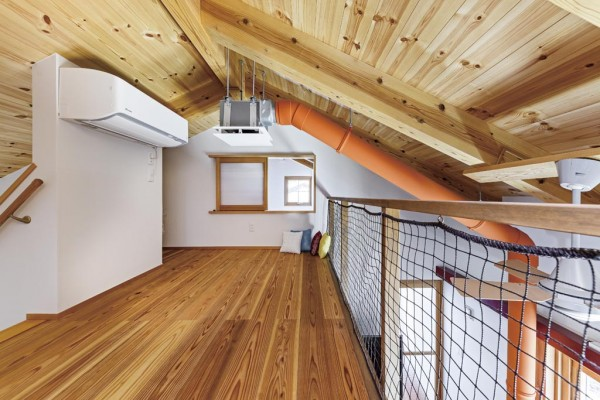 DAIWA式二重床暖房システム