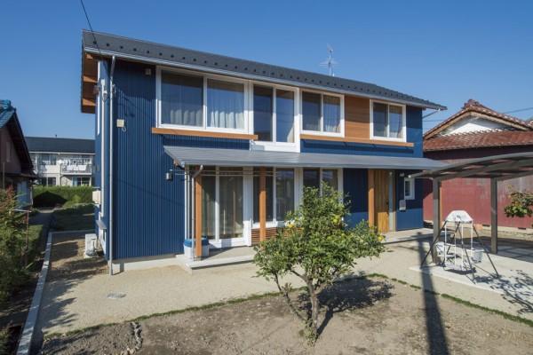 自然の風と暮らす家